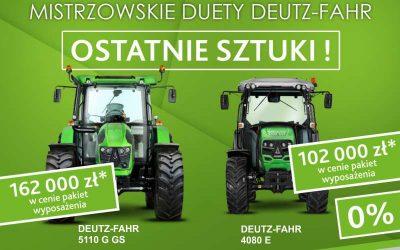 DEUTZ-FAHR 5110 G GS oraz4080 E