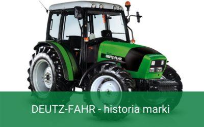 DEUTZ-FAHR – Historia marki