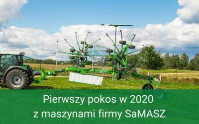 Pierwszy pokos zmaszynami firmy SaMASZ