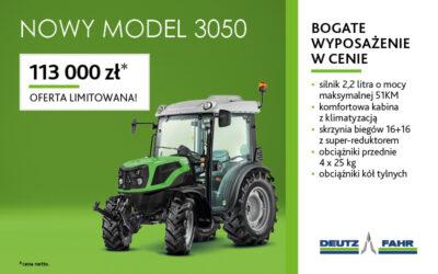 Oferta limitowana – DEUTZ-FAHR 3050 w atrakcyjnej cenie