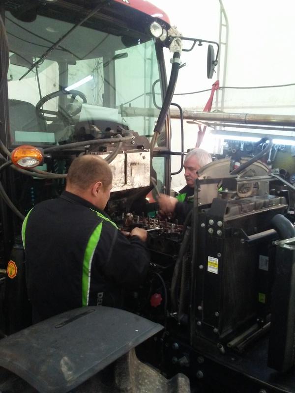 Naprawa ciągników