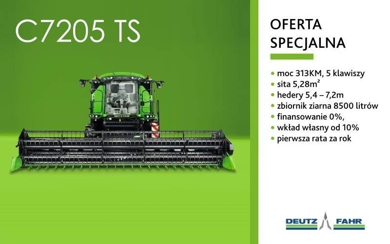 Kombajn Deutz-Fahr C7205 TS