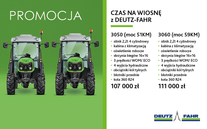 PROMOCJA - MODELE 3050 i 3060
