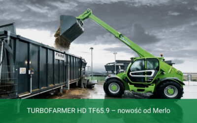 TURBOFARMER HD TF65.9 – nowość odMerlo dla dużych gospodarstw