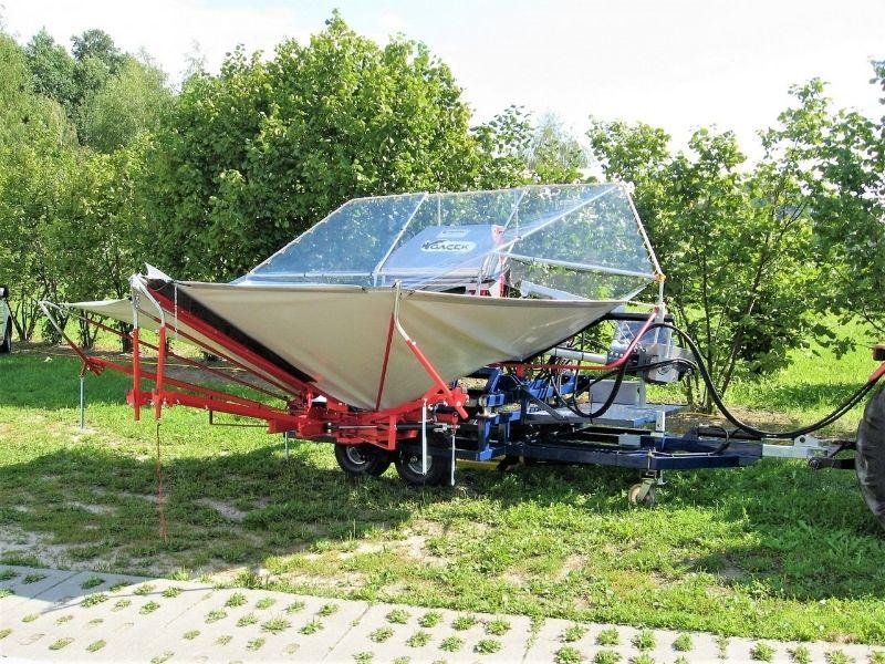 Urządzenie dozbioru wiśni iśliwek GACEK