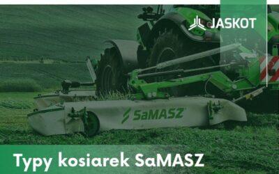 Typy kosiarek marki SaMASZ